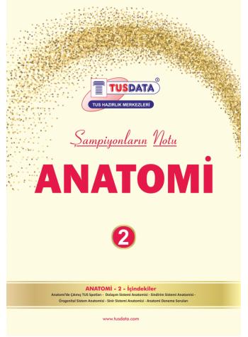 TUS Şampiyonların Notu - ANATOMİ ( Erdinç Tunç )