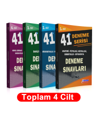 41 DENEME SINAVLARI SERİSİ TAKIMI ( 1.2.3.4.Cilt )