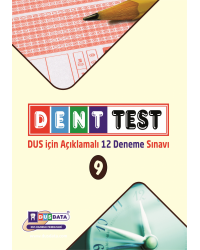 DENTTEST DUS İÇİN AÇIKLAMALI 12 DNM.SNV ( 9.Cilt )