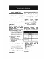 DUS Akademi Soru ( 2.Baskı ) FARMAKOLOJİ