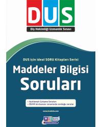 DUS MADDELER BİLGİSİ SORULARI ( 1.BASKI )