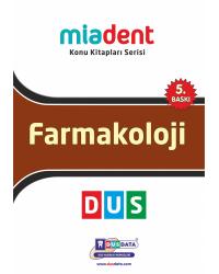 DUS MİADENT KONU ( 5.Baskı ) FARMAKOLOJİ