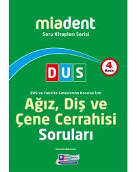DUS Miadent Soru ( 4.Baskı ) Ağız Cerrahisi