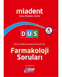 DUS Miadent Soru ( 4.Baskı ) Farmakoloji