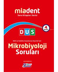 DUS Miadent Soru ( 4.Baskı ) Mikrobiyoloji