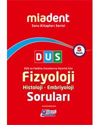 DUS Miadent Soru ( 5.Baskı ) Fizyoloji