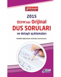 DUS SORULARI - ÖSYM'nin Orijinal 2015