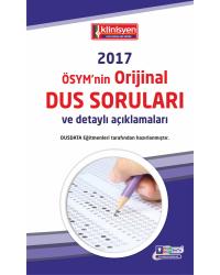 DUS SORULARI - ÖSYM'nin Orijinal 2017