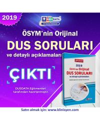 DUS SORULARI - ÖSYM'nin Orijinal 2019