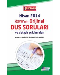 DUS SORULARI - ÖSYM'nin Orijinal NİSAN 2014