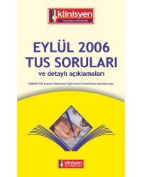 Eylül 2006 Açıklamalı Tus Soruları