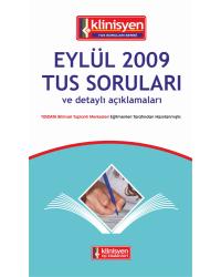 Eylül 2009 Açıklamalı Tus Soruları