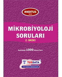 MEDİTUS SERİSİ - MİKROBİYOLOJİ SORULARI / 1.Baskı