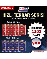 TUS HIZLI TEKRAR SERİSİ (Tam Takım) 11 Branş -2021