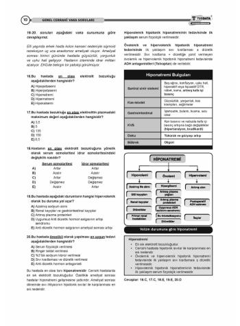 VAKA SORULARI SERİSİ - GENEL CERRAHİ ( 1.Baskı )