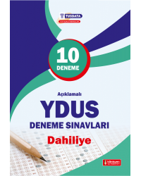 YDUS AÇKLM.10 DENEME SINAVLARI - DAHİLİYE